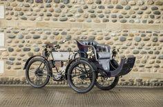 1903 Humber 2¾hp Olympia Tandem Forecar