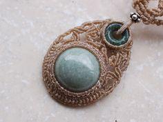 グアテマラ翡翠ジェイド天然石ネックレス