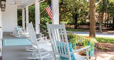 #Porches Let The Outdoors In, Minus Attendant Nuisances Like, Well The Sun. -OurState