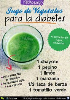 Jugo verde - Diabetes