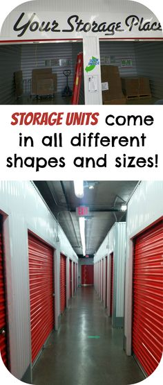 Whether you need to store a couch or just some boxes, there is the perfect #storage unit for you!