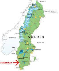 Halmstad Karta Sverige Sök På Google Halmstad Pinterest - Sweden map halmstad