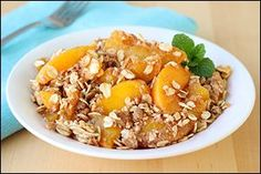 4 SP  Hungry Girl's Peachy Crumble