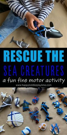 10 Awesome Sensory and Fine Motor Activities - Spectrum Sense For Moms