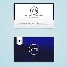Todo negócio merece destaque! #mototaxi #officeboy #designgrafico #design #cartaodevisita #logos #destaque #euamologo #euamodesign