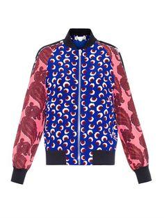 Stella McCartney Blossom Bomber Jacket
