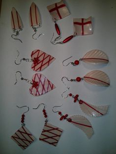 Polymer clay earrings https://www.facebook.com/Anna-Donna-%C3%A9kszer-231340573715505/