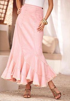 Cute Pink Skirt.