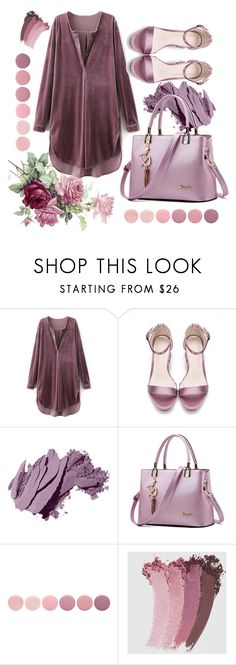 """purple"" by galpaiandamaris ❤ liked on Polyvore featuring Bobbi Brown Cosmetics, WithChic, Deborah Lippmann and Gucci"