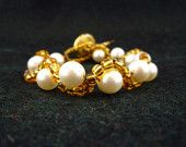 Pearls with Gold Beads Bracelet