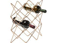 Stojak na Wino Wire Zick Zack