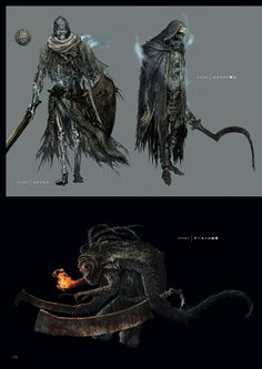 Dark Souls 3 Concept Art - Enemy Concept Art