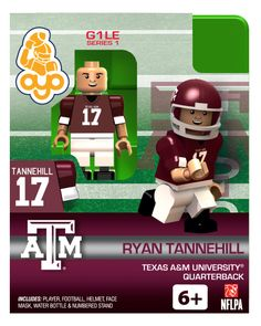 OYO minifigures | Aggies Ryan Tannehill 2013 College Football Limited Edition
