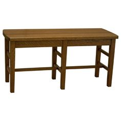 """This handmade Amish 36"""" Amish Mission Bench is skillfully constructed with sturdy solid Oak by highly experienced Amish Craftsmen in the Heartland of America. This bench remains true to the Arts & Crafts movement and demonstrates a classic yet timeless traditional design. This exceptional durable Amish Bench features a sealed conversion varnish that protects this elegant piece from water, oil, alcohol and even nail polish. You can take pride in owning furniture built to the highest…"""