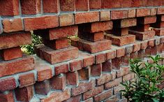 pierced brick interesting design