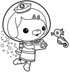 The Octonauts Coloring Pages 2 coloring pages Pinterest