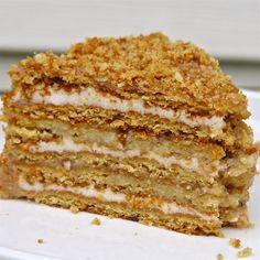 unique dessert. medovnik recipe | eASYbAKED