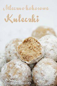 Mleczno-kokosowe kuleczki | Arabeska