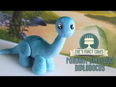 Dinosaur model: How to make a Diplodocus cake topper JURASSIC WORLD INSPIRED - YouTube
