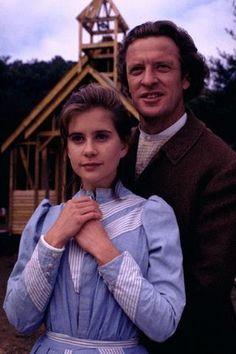 """Christy Huddleston and Neil MacNeill from """"Christy"""" (1994-1995)"""