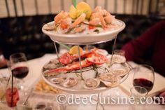Plateux de Fruits de Mer at Rouge Brasserie and Oyster Bar – Greenwich