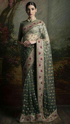 .Saree, Sabyasachi, from India.