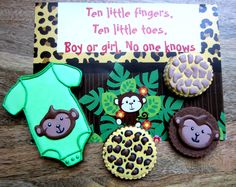 Sugar Buff: Animal Baby Shower Cookies