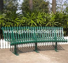 Powder coated steel curved outdoor bench metal park bench size, View park bench size, Gavin Product Details from Guangzhou Gavin Urban Elements Co., Ltd. on Alibaba.com