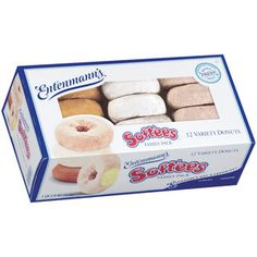 Entenmann's Soft'ees Donuts Variety Pack, these are so soft and so fresh tasting. Delicious.