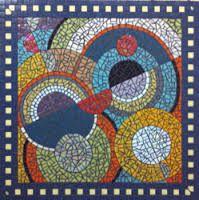 Afbeeldingsresultaat voor mozaiek tafel