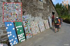 Road to Portomarin #stamp #shop #Camino 2015 August McG - day 32