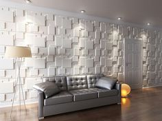 living room wallpaper ideas - Wall Panels for Interior Wall Decoration Brick Design Pack of 6 Tiles 32 Sq Ft (Plant Fiber) Wall Sconces Living Room You can find more details by visiting the image link. 3d Wall Tiles, Decorative Wall Tiles, Wall Tiles Design, 3d Wall Murals, Tv Wall Design, Cement Tiles, Concrete Wall, Mosaic Tiles, Interior Walls