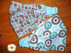 Diese beiden Kopftücher hat mein jüngster Neffe auf Anregung seiner Frau Mama von mir bekommen. Sie sind aus leichtem Baumwollstoff, dessen ...