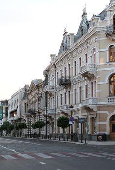 აღმაშენებლის გამზირი #Tbilisi #Georgia #Tbilisigovge #Tbilisicityhall #Rehabilitation