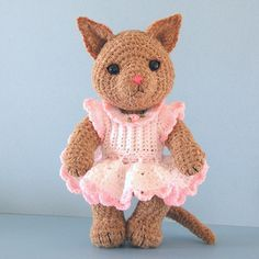 Kitty Cat free crochet pattern by Sue Pendleton, thank so for download xox
