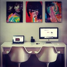 Coolest Home Offices on Instagram | Apartment Therapy