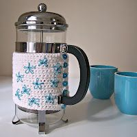 cafetiere cosy pattern