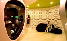 Bosco Pi retail design by Karim Rashid