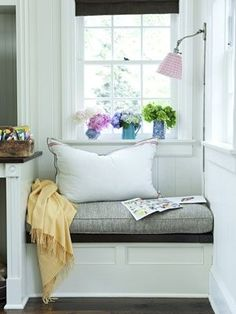 A great little reading nook