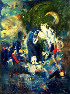 Dedicated to the poetry of Mihail Eminescu Painting Oil Painting On Canvas, Canvas Art, Abstract Expressionism, Abstract Art, Modern Art, Contemporary Art, Original Artwork, Original Paintings, Buy Art