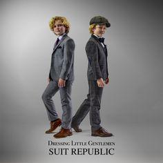Boys 3pc suit from €70 www.suitrepublic.ie