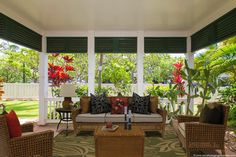 The beautiful lanai from our Ko Olina 2-bed 2-bath townhouse for sale. For more info, visit http://www.oahuhomebuyers.com/property/ko-olina-coconut-plantation-townhouse-for-sale/