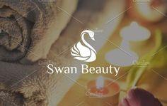 Swan Besuty | Logo Template by REDVY on @creativemarket
