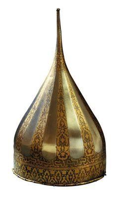 Helmet of Russian czar Ivan Grozni