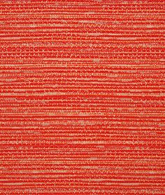 Red color Stripe and Beach pattern Outdoor and Woven and Texture and Performance type Upholstery Fabric called Persimmon by KOVI Fabrics Outdoor Upholstery Fabric, Outdoor Fabric, Color Stripes, Color Pop, Red Color, Fabric Decor, Fabric Design, Greenhouse Fabrics, Upholstered Sofa