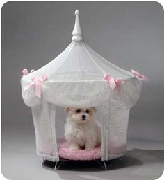 Sugarplum Princess Dog Cat Pet Bed Canopy Tent in Pet Supplies, Dog Supplies, Beds Dog Tent Bed, Princess Dog Bed, Princess House, Princess Palace, Princess Kitty, Princess Canopy, Princess Castle, Luxury Pet Beds, Luxury Bed