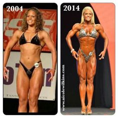 Never give up! Decade of training.