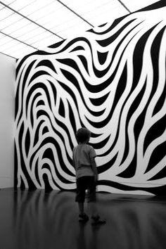 Sol LeWitt + sur Sol Lewitt dans la collection de robyn Armstrong consacrée à… Op Art, Art Conceptual, Modern Art, Contemporary Art, Instalation Art, 3d Studio, Monochrom, Art Design, Art Plastique