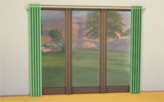 Issie Curtains Add-ons Here are Issie Curtains for 3-tile windows requested by theveronarelapse. You can get matching 1-tile and 2-tile…