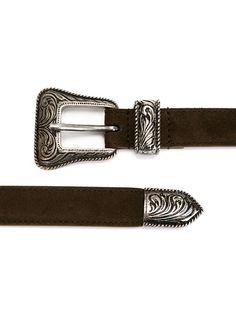 Saint Laurent Brown Western Buckle Belt for men Western Belt Buckles, Western Belts, Westerns, Saint Laurent, Saints, Yard, Brown, Men, Accessories